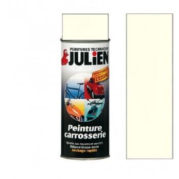 Peinture bombe blanc crème carrosserie antirouille vehidecor JULIEN