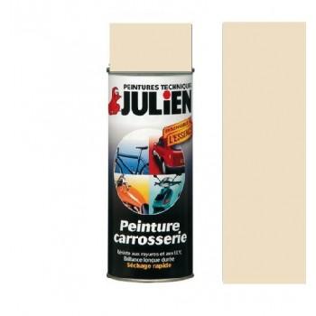 Peinture bombe ivoire carrosserie  auto moto voiture antirouille vehidecor JULIEN