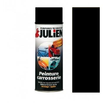 Peinture bombe noir carrosserie  auto moto voiture antirouille vehidecor JULIEN
