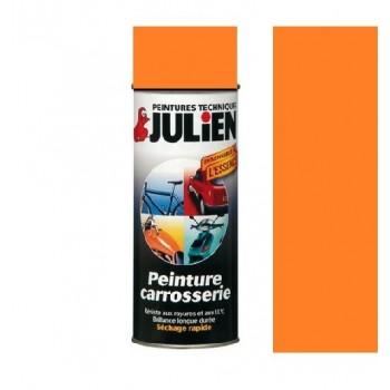 Peinture bombe orange carrosserie  auto moto voiture antirouille vehidecor JULIEN