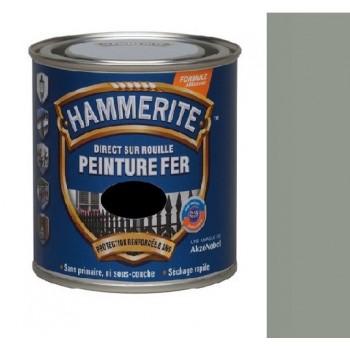 Peinture fer brillant laqu gris nuage direct sur rouille hammerite modern droguerie for Peinture gris brillant