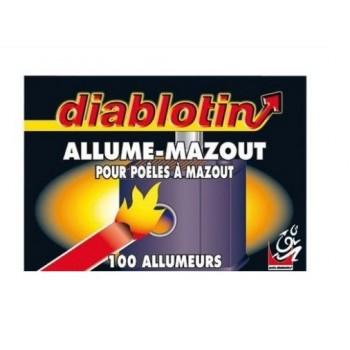 100 Allumeurs allume mazout DIABLOTIN