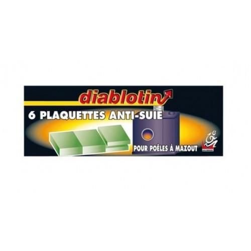 Lot 6 plaquettes anti suie po le mazout diablotin for Modern droguerie