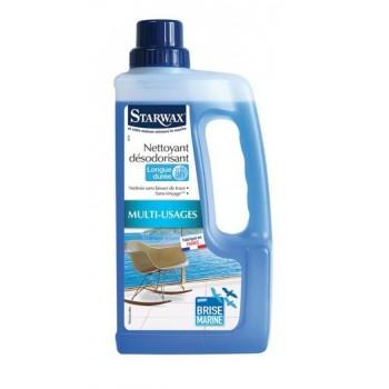 Nettoyant dégraissant désodorisant très longue durée brise marine STARWAX