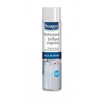 Nettoyant brillant express salle de bains mousse active fait briller sans effort STARWAX