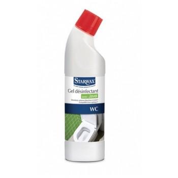 Nettoyant désinfectant gel avec javel WC toilette STARWAX