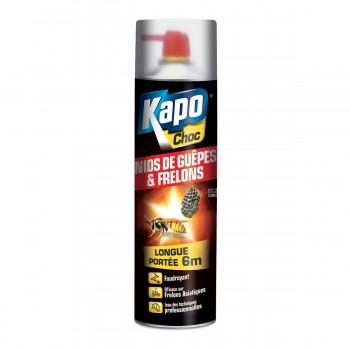 Insecticide aérosol longue portée spécial nid guêpes frelons KAPO