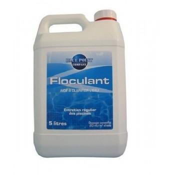 Floculant 5 litres permet de clarifier l' eau de piscine BLUE POINT COMPAGNY
